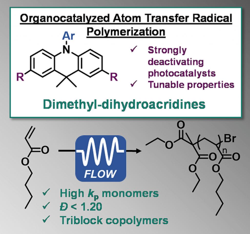 Organocatalyzed atom transfer radical polymerization